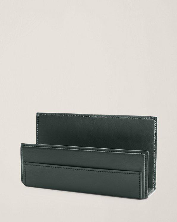 Brennan Leather Letter Rack
