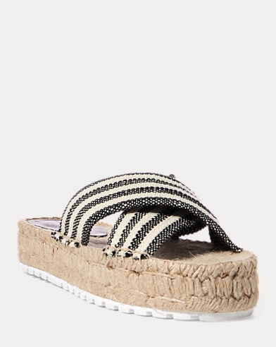 Kit Striped Espadrille