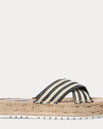 Kit Striped Espadrille