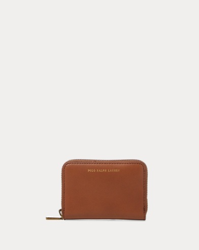 9aea452af32d Leather Small Zip Wallet