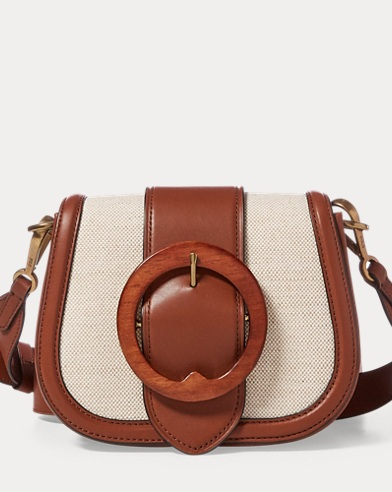 Wood-Buckle Lennox Bag