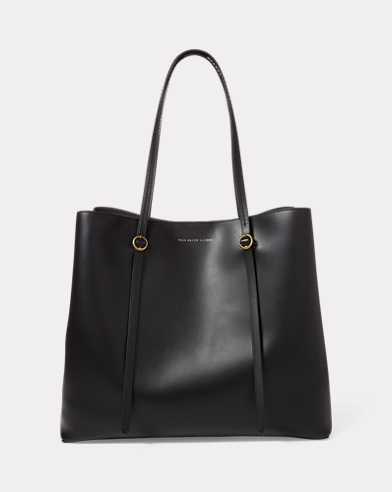 2c4a561f7d7506 Leather Lennox Tote. color (2)  Black · Brown. Polo Ralph Lauren. Leather  Lennox Tote