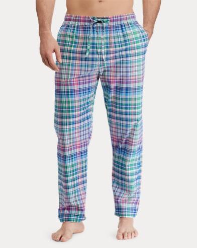 Stretch Cotton Pajama Pant