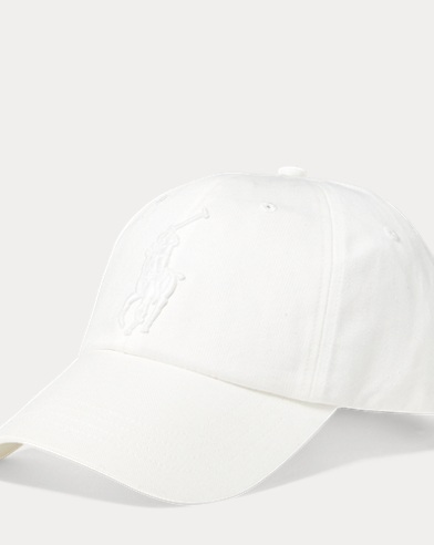 13d320cbc6a82 Cotton Chino Baseball Cap. Polo Ralph Lauren