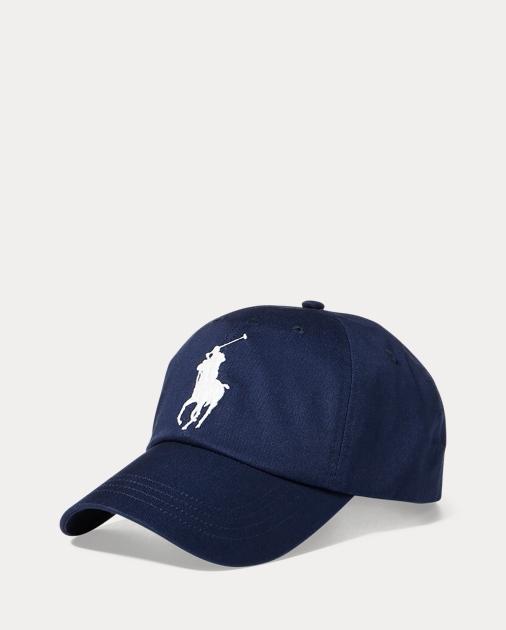 a90cda2610 Polo Ralph Lauren Big Pony Chino Baseball Cap 1
