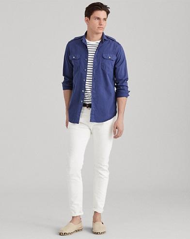 Camicia in twill Classic-Fit