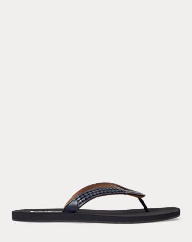 Leroy Leather Thong Sandal