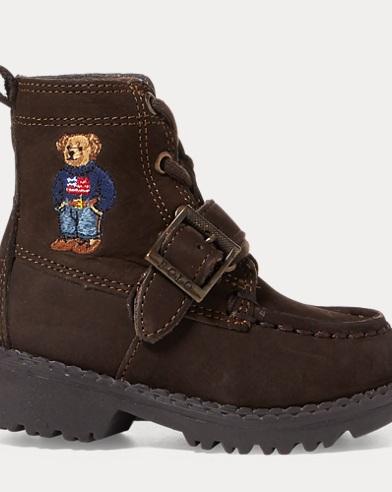 Ranger Polo Bear Suede Boot