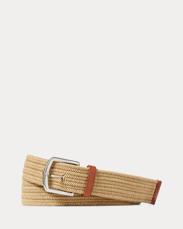 Braided Stretch Cotton Belt