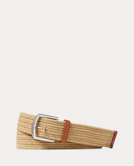 Braided Stretch Cotton Belt