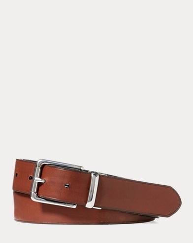 Men S Belts Suspenders In Leather Suede Ralph Lauren
