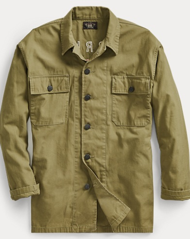 Cotton Twill Tour Overshirt