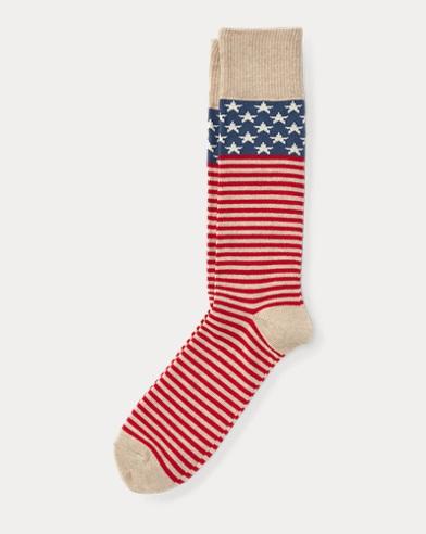 Stars & Stripes Boot Socks