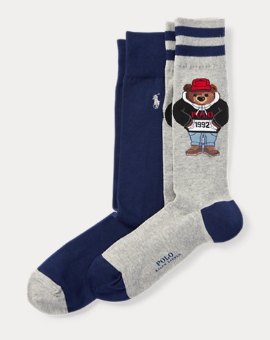 Polo Bear Sock 2-Pack