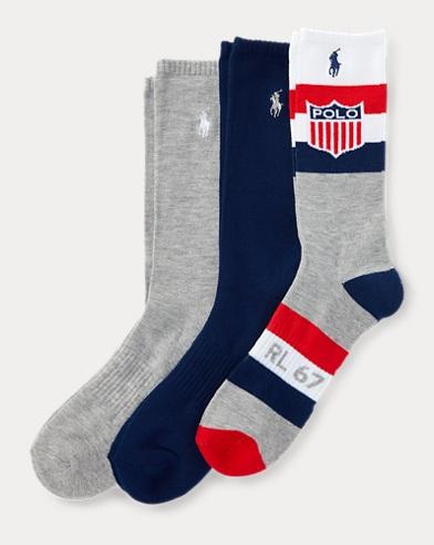 Shield Trouser Sock 3-Pack