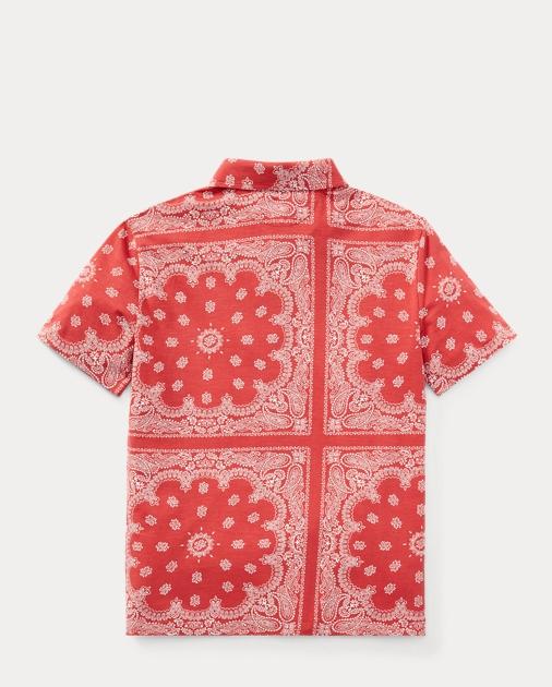 70e123010 ... france produt image 1.0. kids boys polo shirts bandanna print fc6fb  d7ecd amazon mens ralph lauren polo hawaiian blue red ...