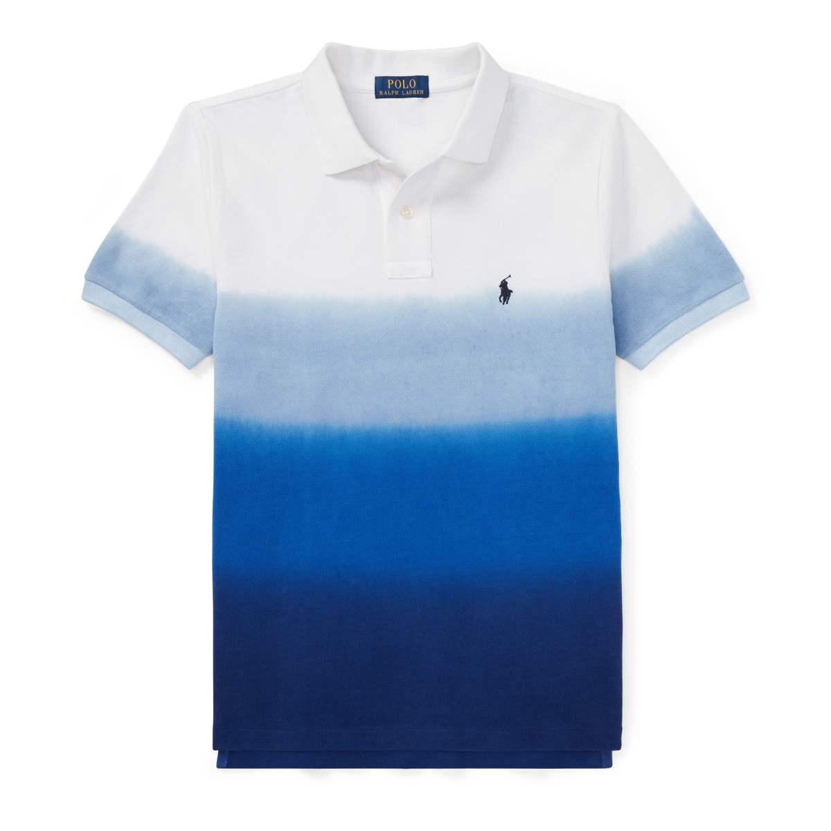 caea259a Dip-Dyed Cotton Mesh Polo