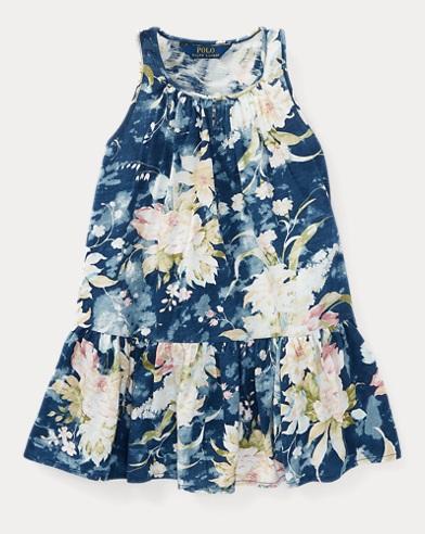 Floral Cotton Jersey Dress