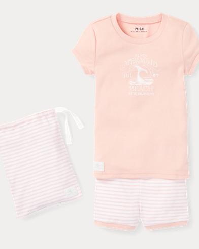 Cotton Graphic Pajama Set