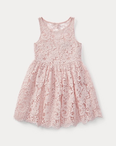 Lace Open-Back Dress
