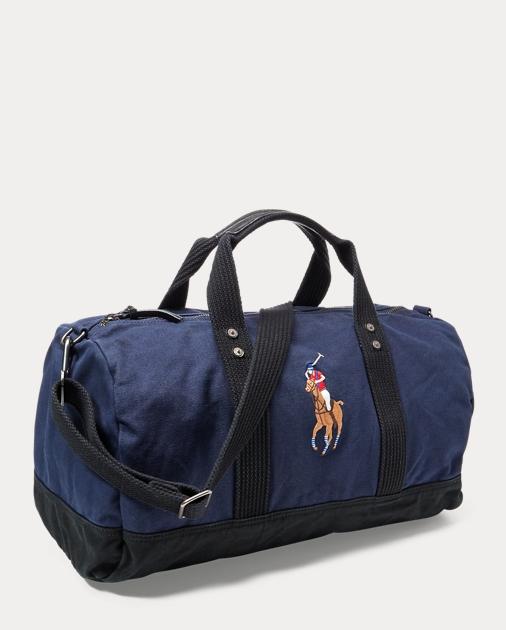 Canvas Big Pony Duffel Bag   Ralph Lauren UK f55f5cc043