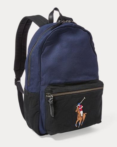 71955d243514 Canvas Big Pony Backpack. Polo Ralph Lauren