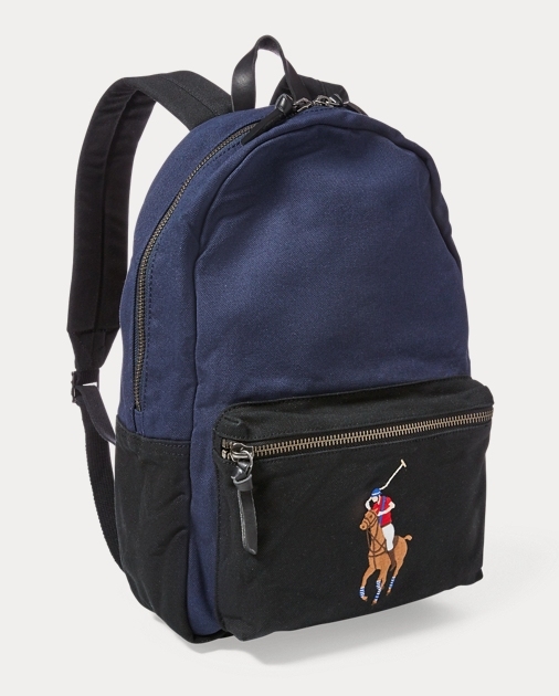 51467dc8c Polo Ralph Lauren Canvas Big Pony Backpack 2