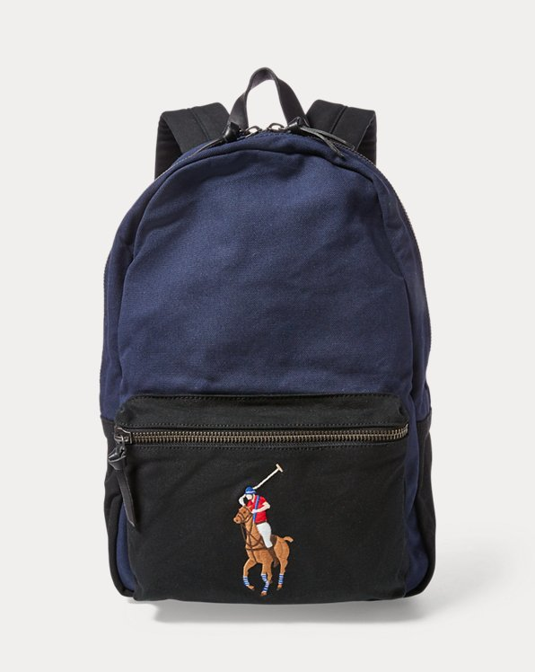 Canvas Big Pony Backpack