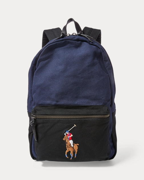 Polo Ralph Lauren Canvas Big Pony Backpack 1 894ace22fd323
