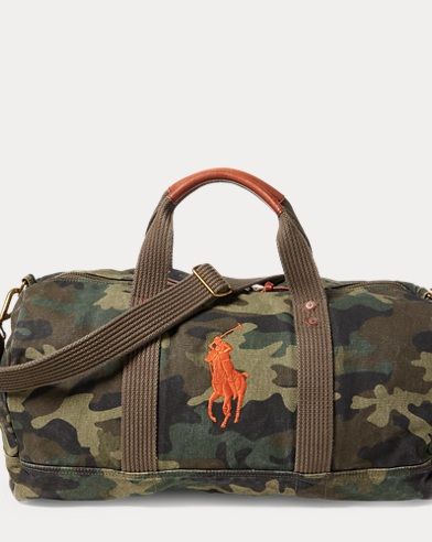Camo Canvas Big Pony Duffel