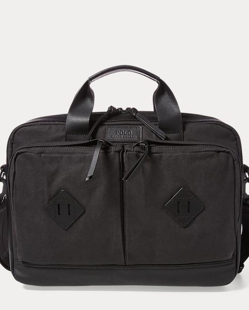 65a29cd70529 Polo Ralph Lauren Cotton Canvas Commuter Bag 1
