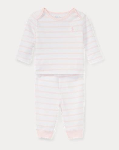 Striped Top & Pant Set