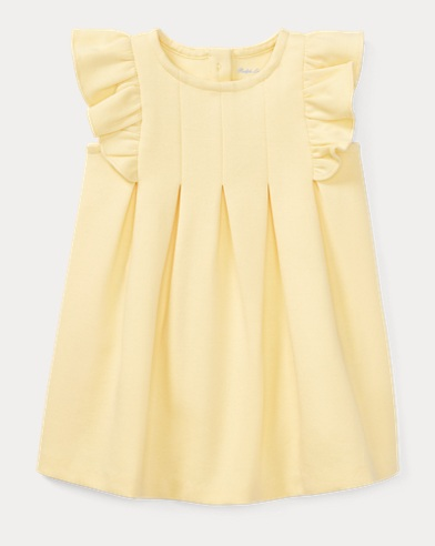 Ruffled Ponte Dress & Bloomer