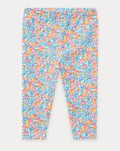Floral-Print Jersey Legging