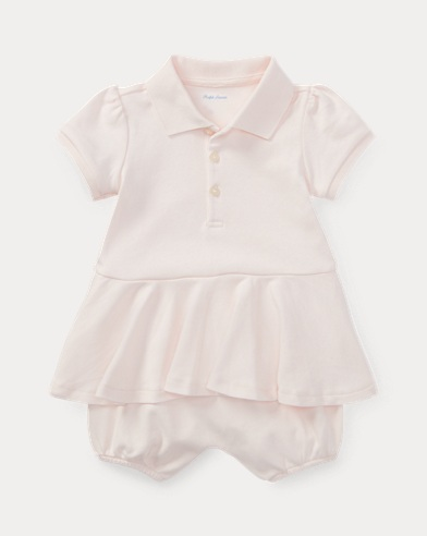 Baby Girl Polo Shortall
