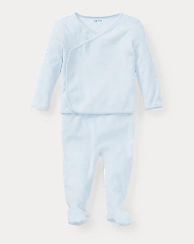 Cotton Kimono & Pant Set