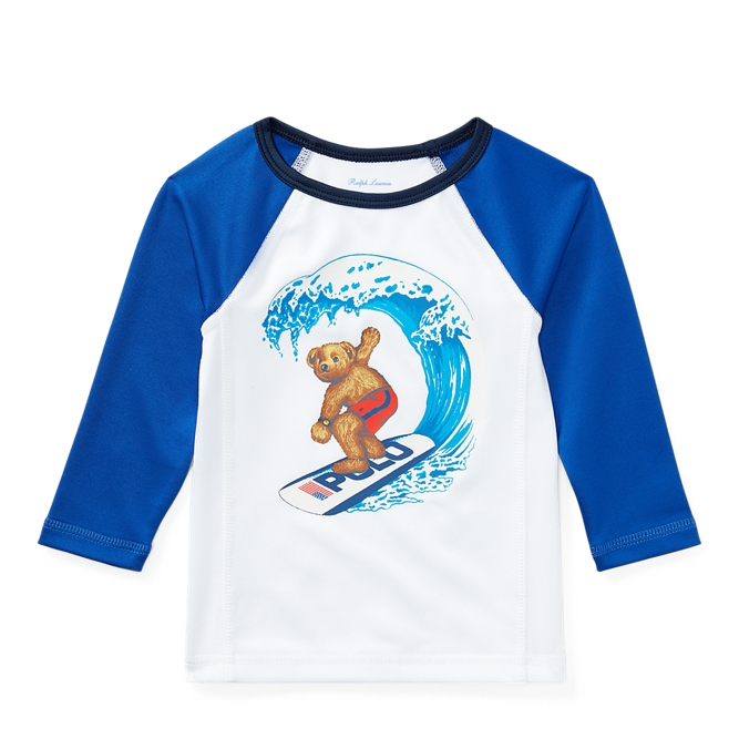 Surfer Bear Rash Guard