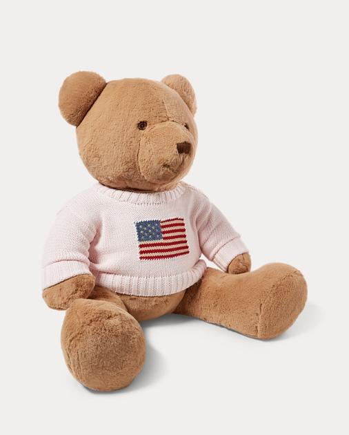 ea0be390cc Large Flag-Sweater Polo Bear