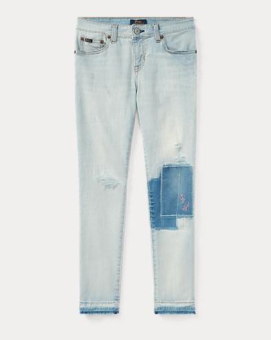Tompkins Patch Skinny Jean