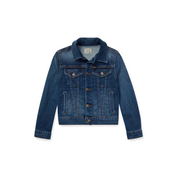 폴로 랄프로렌 걸즈 자켓 Polo Ralph Lauren Girls Denim Trucker Jacket,Marcella Wash