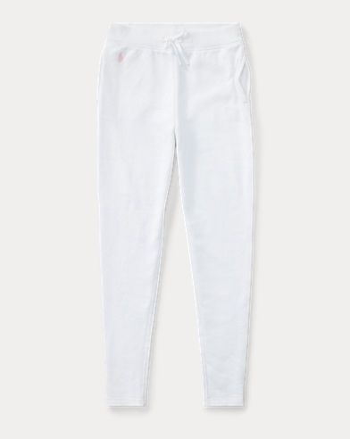 Cotton-Blend Terry Pant
