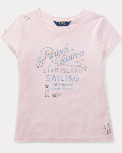 Cotton Jersey Sailing T-Shirt