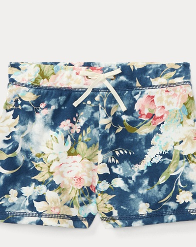 Floral French Terry Short