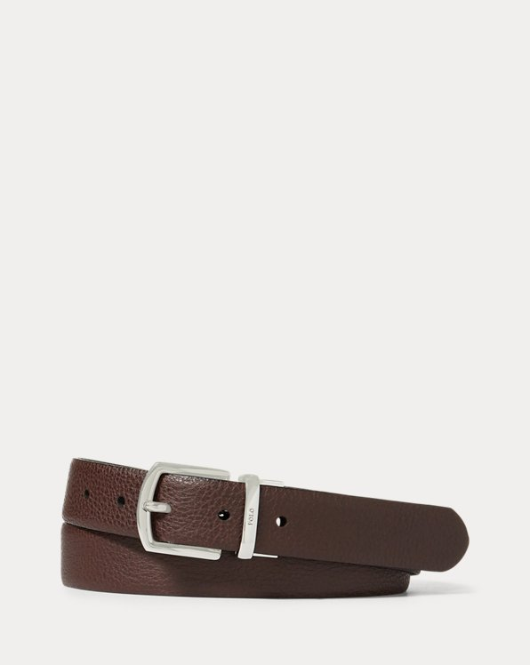 Reversible Pebble Leather Belt