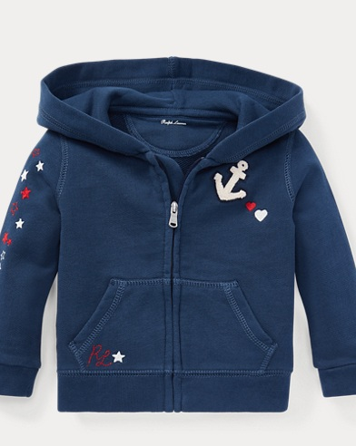 Nautical French Terry Hoodie