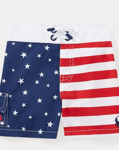 Kailua Flag Swim Trunk
