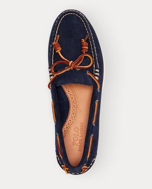 Polo Ralph Lauren Millard Suede Boat Shoe 3 c2f67f483a7