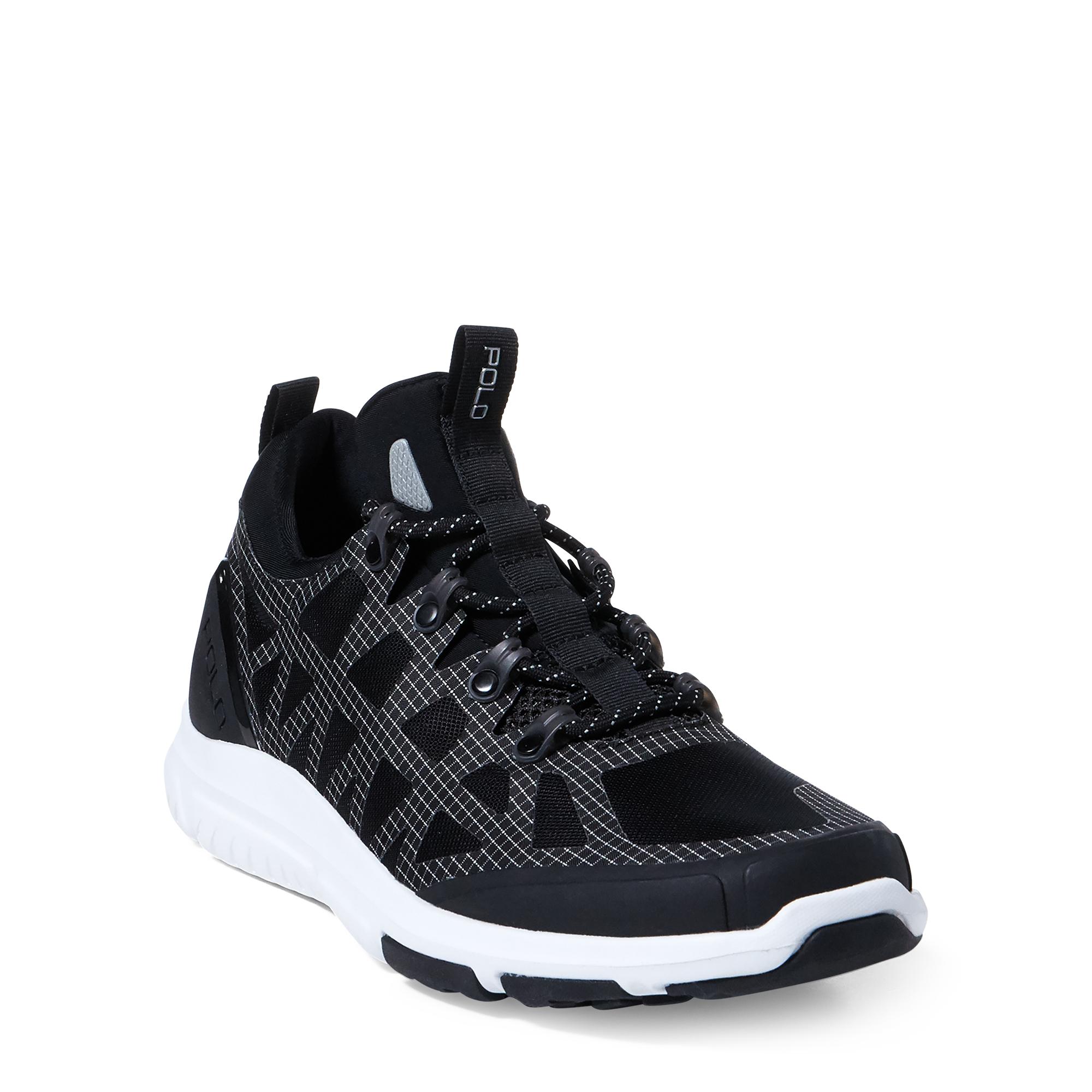 Ralph Lauren Adventure 200 Mesh Sneaker Black 10