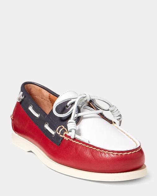 84fe0b0c Merton Leather Boat Shoe