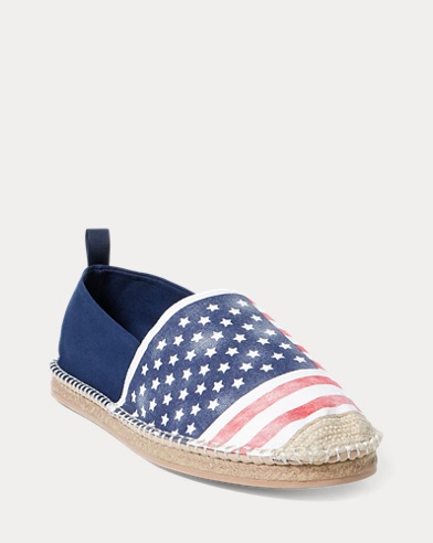 Barron Flag Canvas Espadrille
